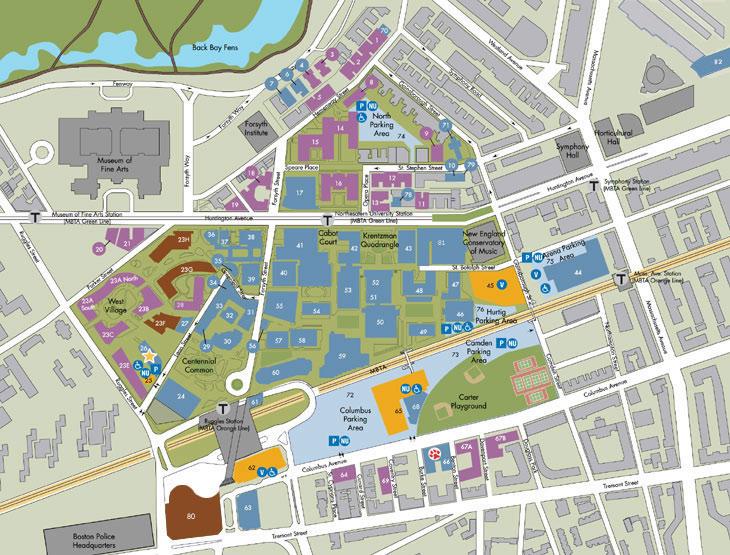 huntington university campus map Acm Nanocom 2015 Conference Location huntington university campus map